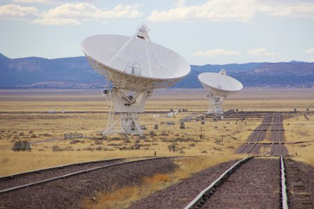 VLA – Very Large Array og Green Chile Cheeseburger