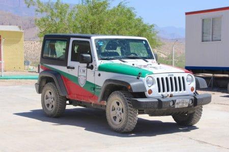 Boquillas del Carmen, Mexico – grænseovergang i Big Bend