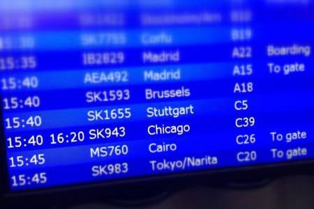 Forsinket afgang til Seattle