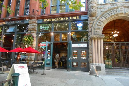 Underground Tour i Seattle