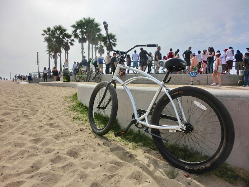 Cykeltur Venice Beach