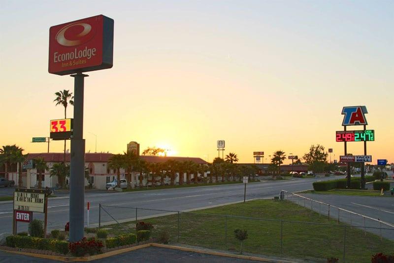 Moteller ved Interstates