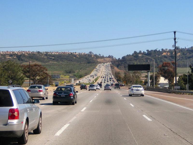 I-5 til San Diego
