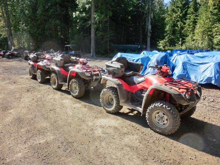 ATV Tour ved Whistler Mountain