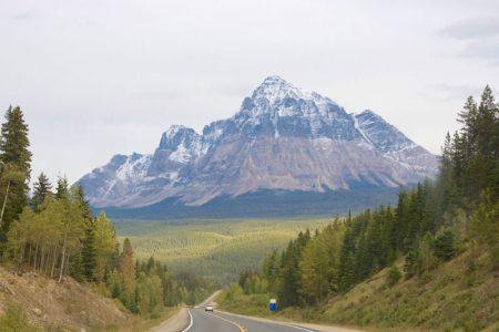 Fra vandfald til Jasper National Park