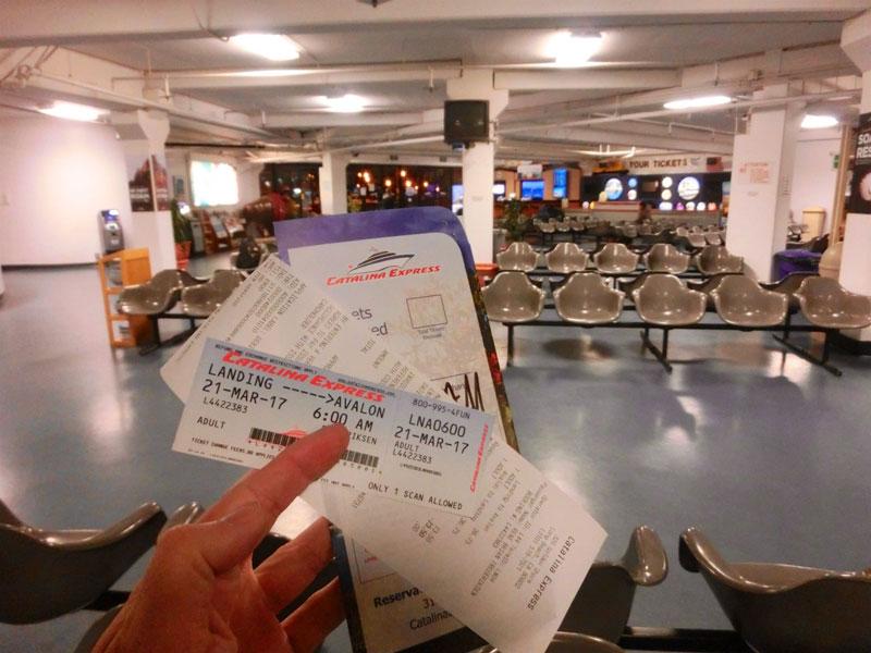 Færge til Catalina Island