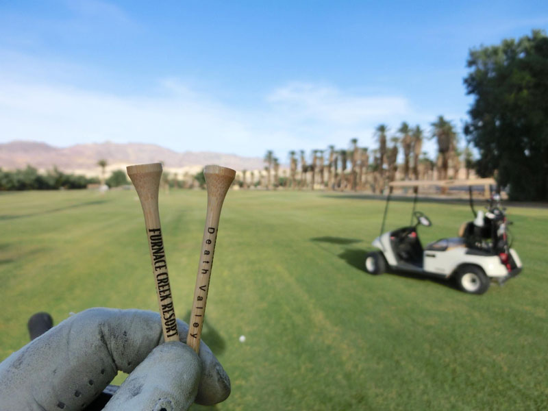 Golf i Death Valley