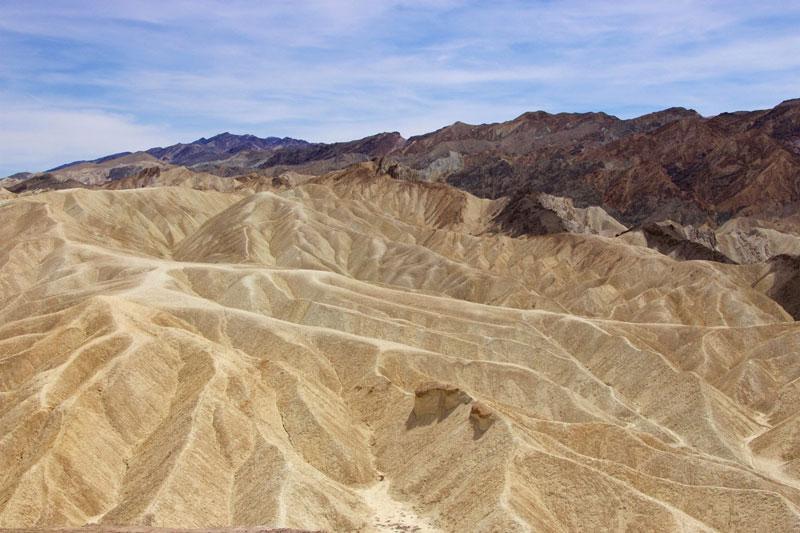 Zabriskie Point i Death Valley