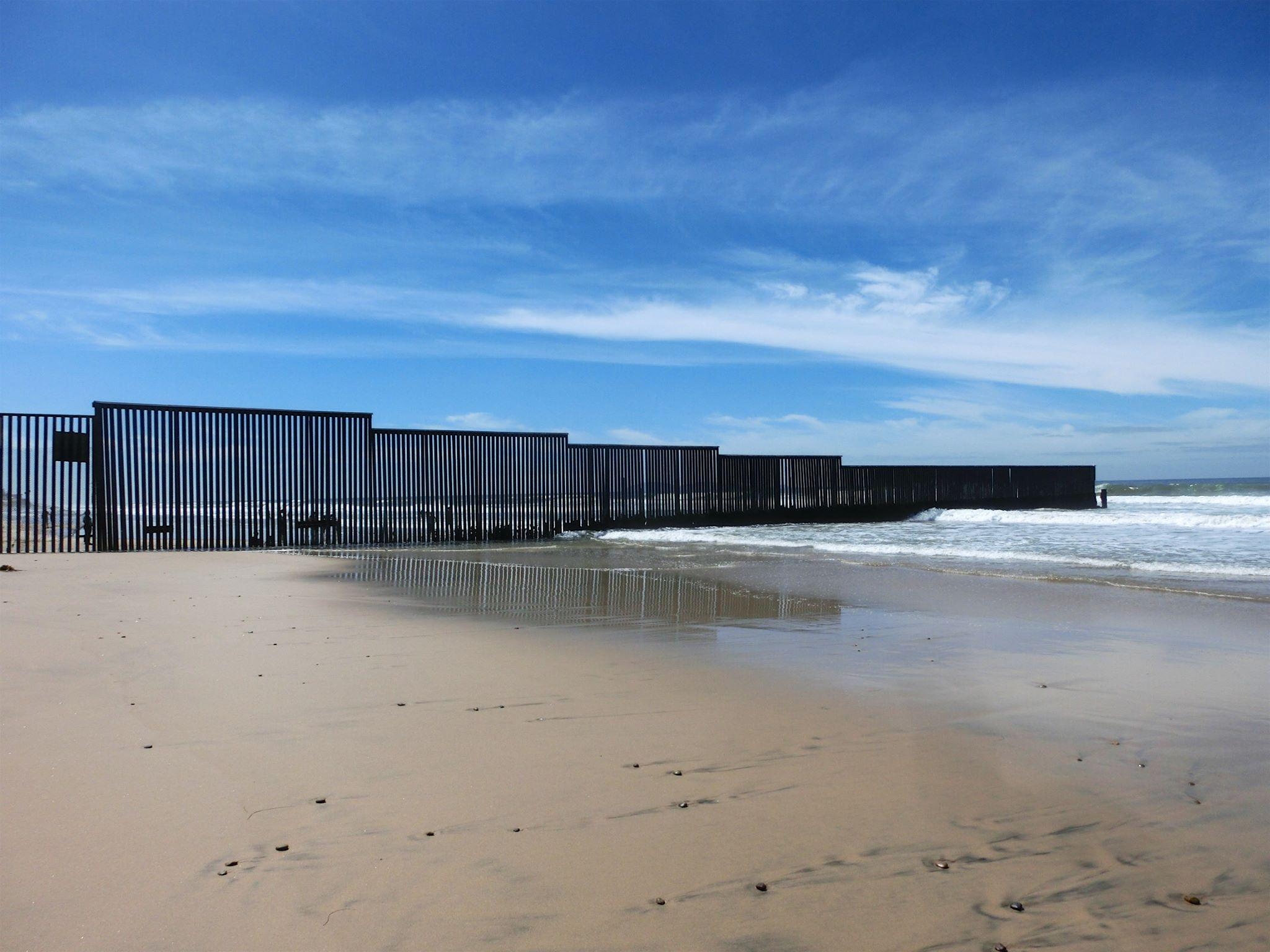 Grænsen til Mexico