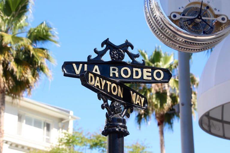Rodeo Drive og Hollywood Boulevard