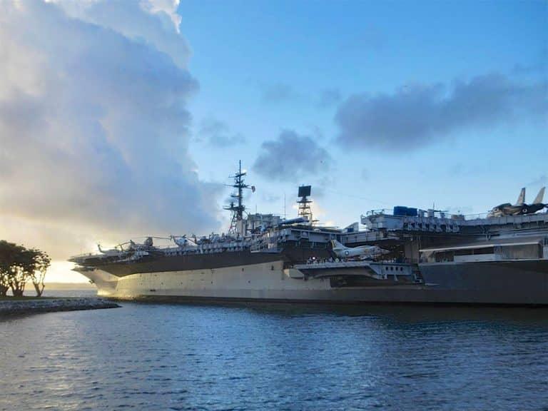USS Midway hangarskib i San Diego