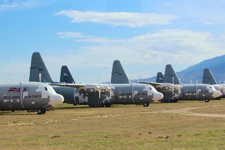 Pima Air & Space Museum og boneyard