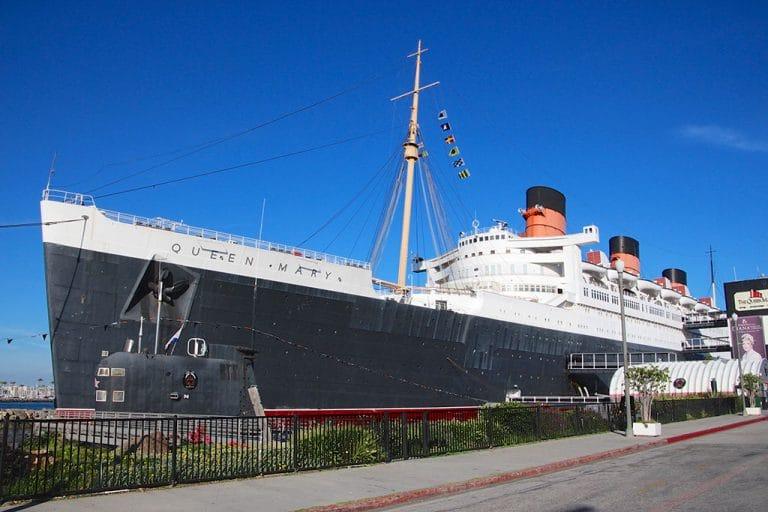 Overnatning ombord på Queen Mary