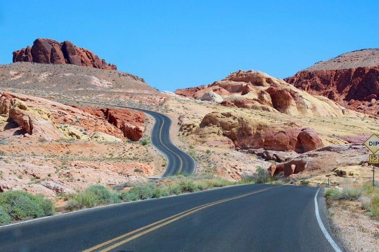 Valley of Fire State Park – udflugt fra Las Vegas