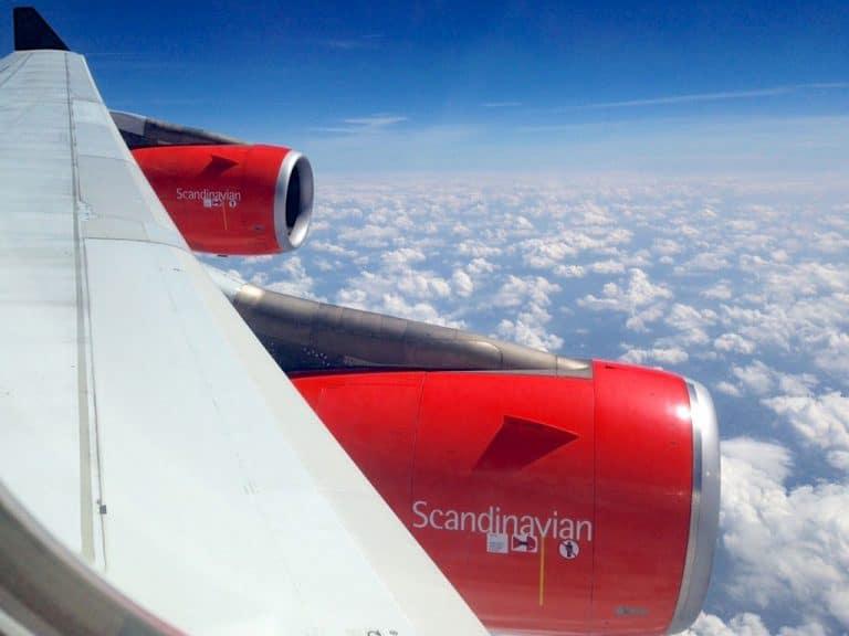København til Washington DC med SAS