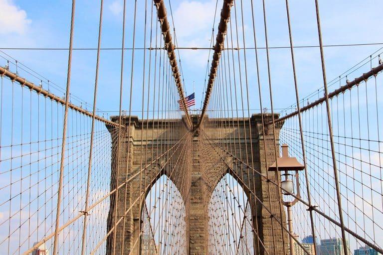 New York City og Brooklyn Bridge