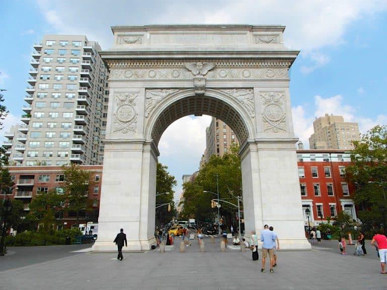 Washington Square Park, One World og 9/11 Memorial