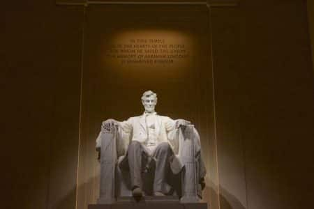 Washington DC – Lincoln Memorial og White House