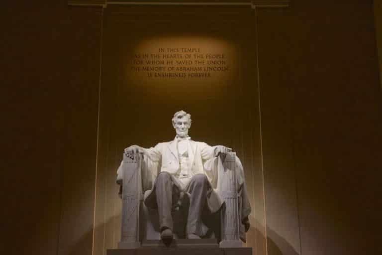 Washington DC – Lincoln Memorial og White House