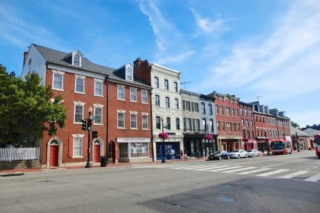 Georgetown i Washington DC
