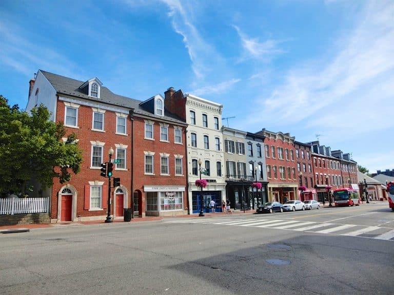 Georgetown i Washington DC