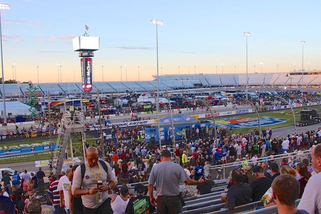 NASCAR i Richmond, Virginia - Roadtrips i USA & Canada