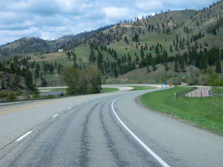 Bozeman til Spokane