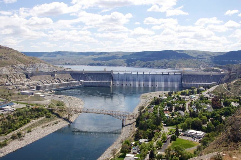 Grand Coulee Dam – større end Hoover Dam