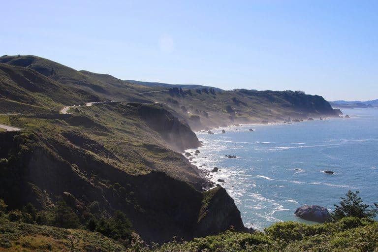 Skibsvrag, Highway 1 og Golden Gate Bridge