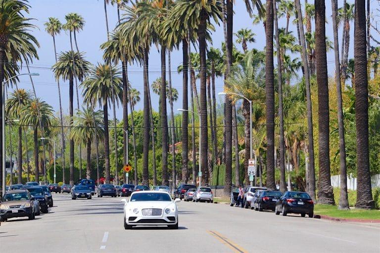 Santa Monica Market, Rodeo Drive og Beverly Hills