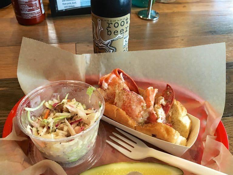 Shopping og Lobster Roll i Boston