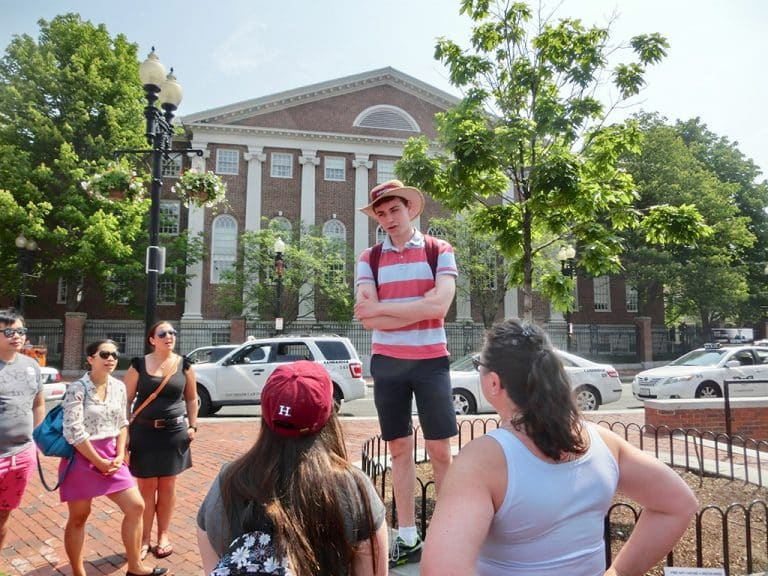 Harvard University Tour i Boston