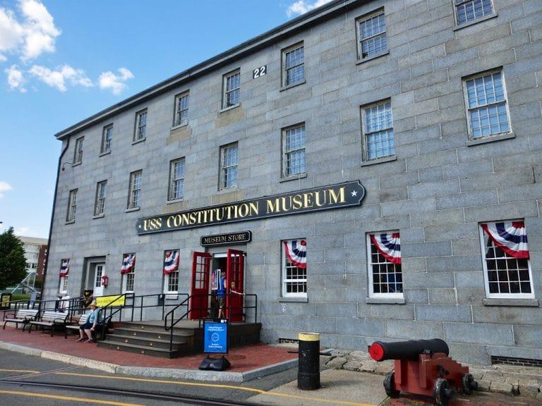 Bunker Hill, USS Constitution og Converse