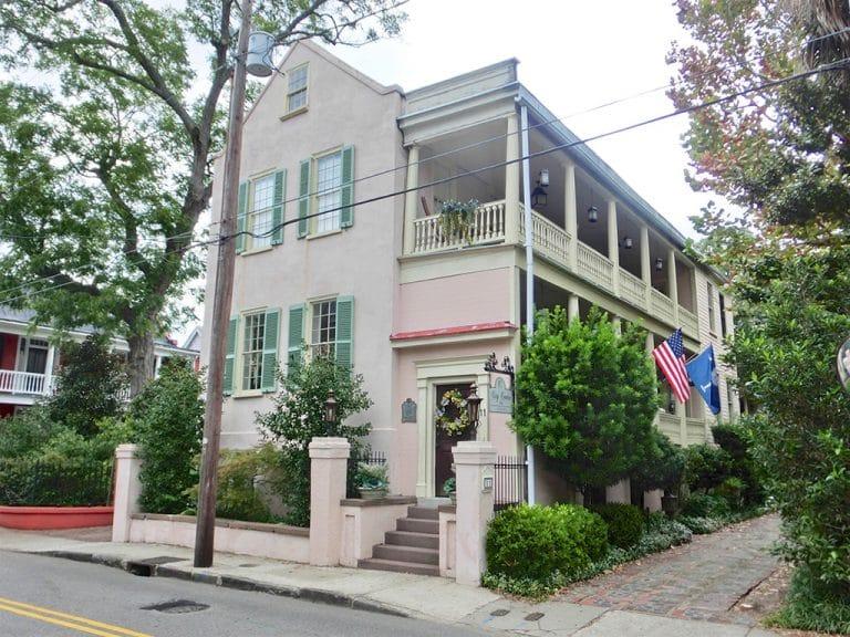 Historisk overnatning i Charleston