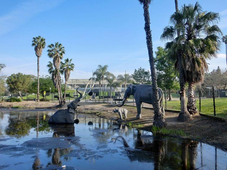 La Brea, Caltech og shopping i Pasadena