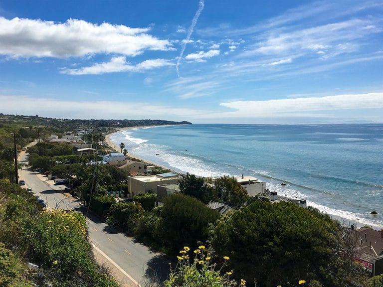 Santa Barbara, Malibu og Long Beach