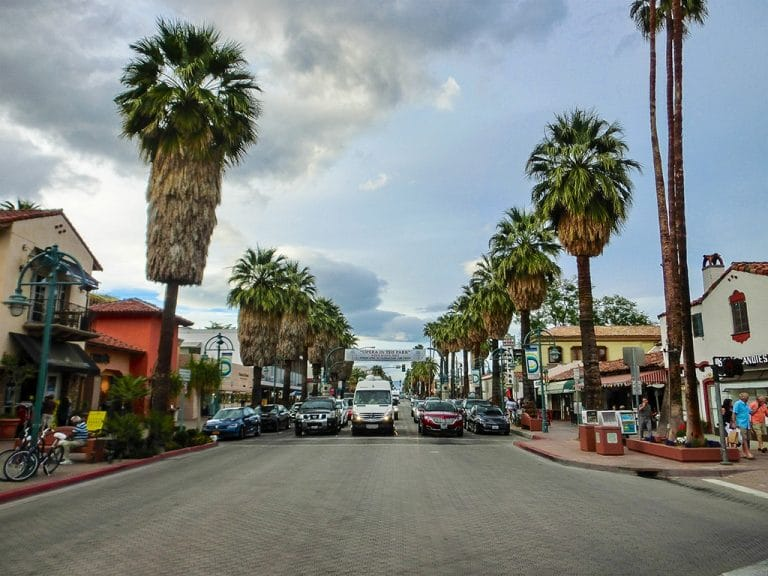 Palm Springs – Tramway og downtown