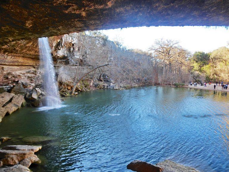 Hamilton Pool ved Austin, Texas