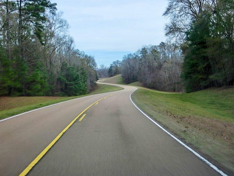 Natchez Trace Parkway, Mississippi