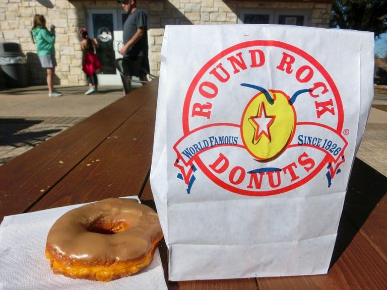 Shopping og donuts i Round Rock, TX