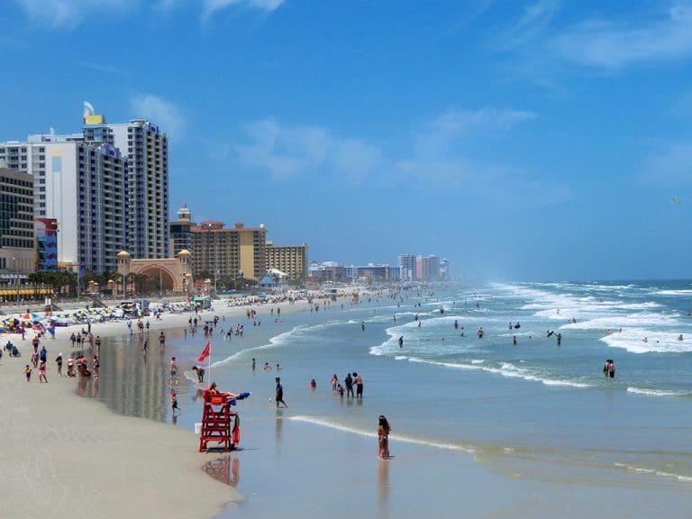 Daytona Beach – lidt slidt men lækker strand