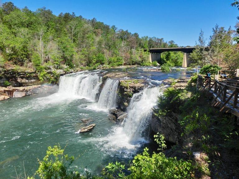 Little River Canyon i Alabama
