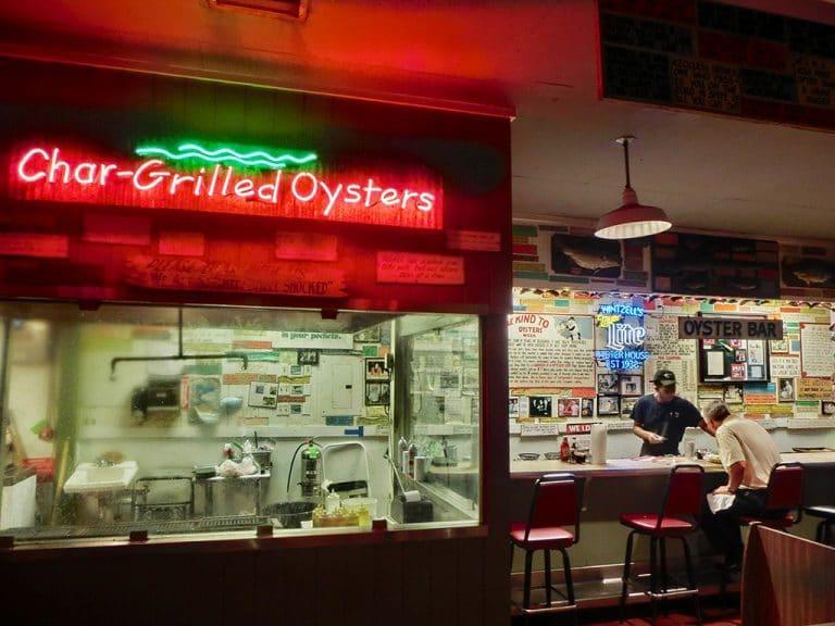 Malaga Inn og Wintzell's Oysters i Mobile