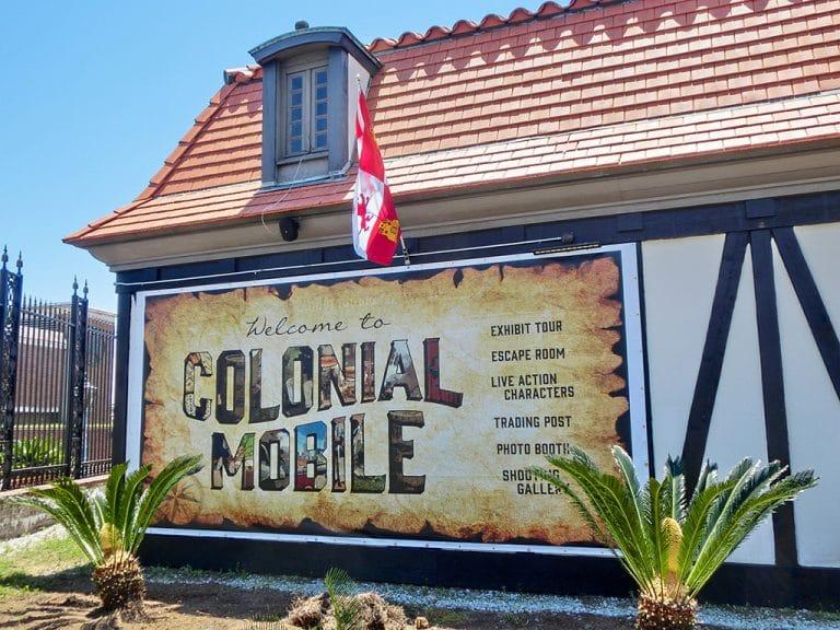 Colonial Fort Condé i Mobile, AL