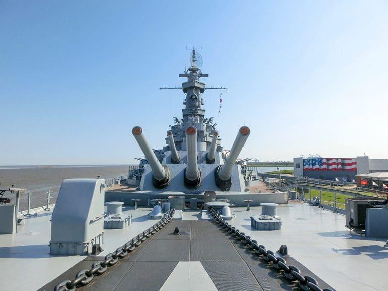 USS Alabama – Krigsskib fra 2. Verdenskrig