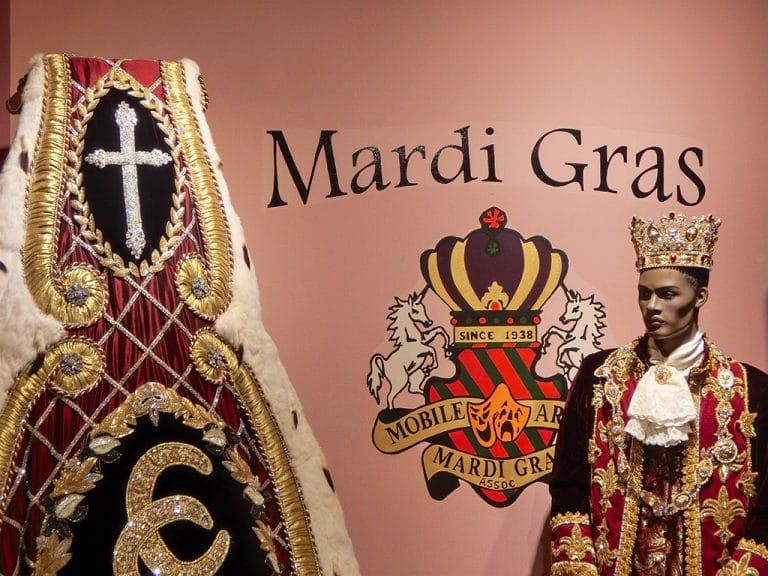 Mardi Gras og Carnival Museum i Mobile