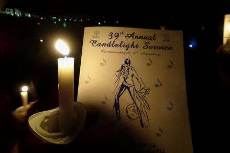 Elvis Week – Candlelight Vigil