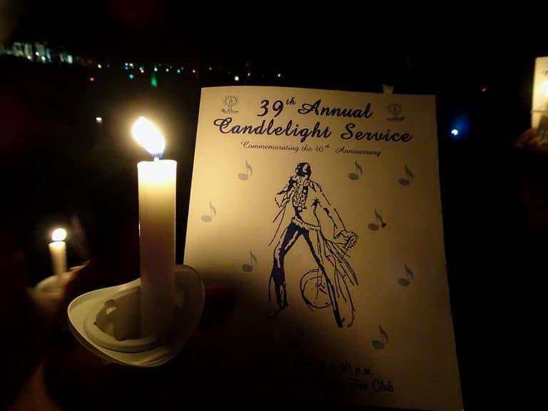 Elvis Week – Candlelight Vigil