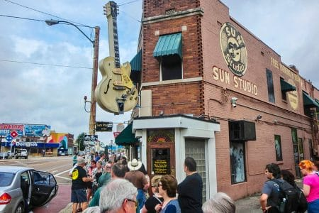 Elvis Week – SUN Studio tour
