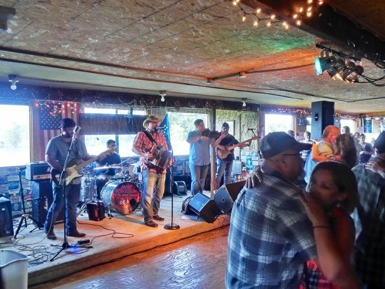Zydeco musik i Louisiana